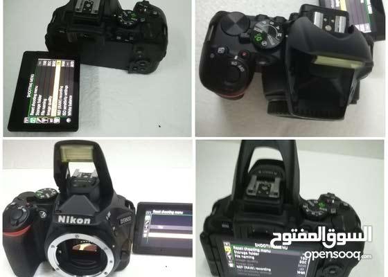 كاميرا نيكون 5600 مستعمل ،بحالة جيدة