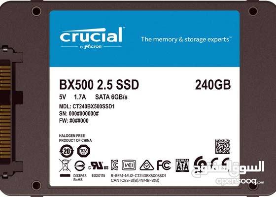 Crucial Bx500 Ssd داخلي 240gb 142600978 Opensooq
