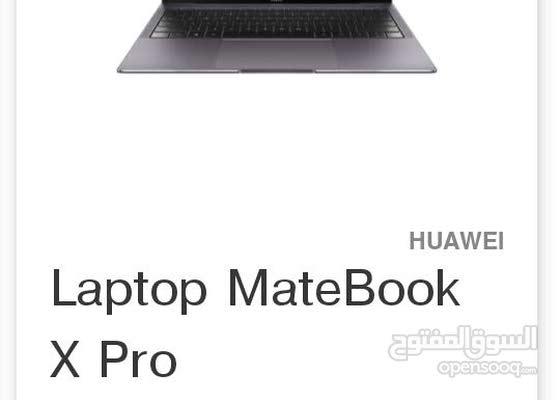 laptop MateBook x pro
