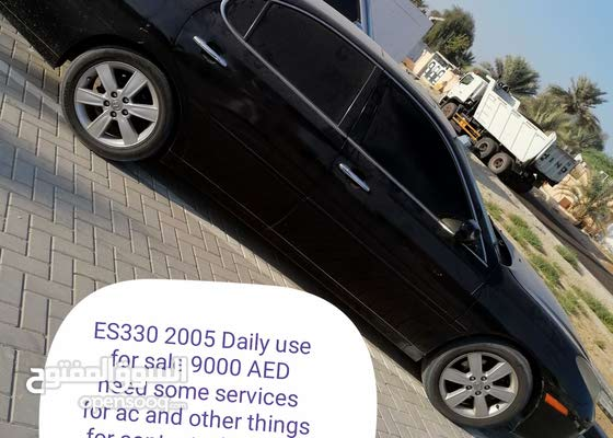 ES330 2005 Daily use for sale 9000 AED need some services for ac and other thing