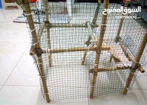 Home Made bamboo used Rabbit Cage / Box / Home for Sale