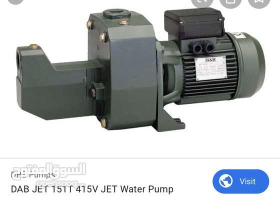 موتور مياه dab إيطالي 2.5 حصان.