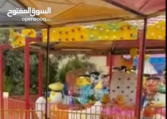 للبيع( مجموعة ألعاب وملاهي كهربائية للكبار والأطفال لأصحاب المنتزهات )