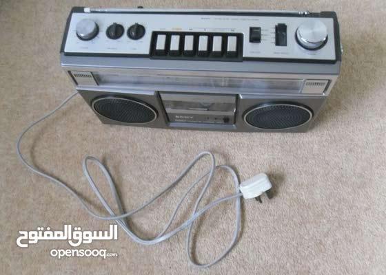 Sony CFS-55L stereo radio cassette