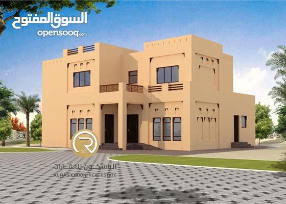 للبيع ارض سكنية  - فى منطقة المنامة حوض 8 - مساحة 10000 قدم - عجمان KBH
