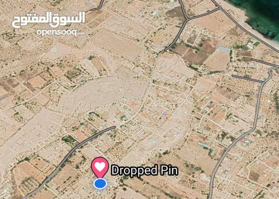 قطعة ارض في منطقة ابوفاطمة 353 متر مقسم خلف مقسم تيكة شارع مقسم عيسي