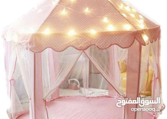 خيمة اطفال مع اضاءه