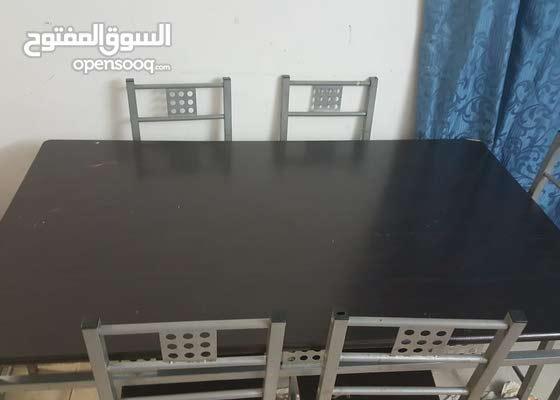 سفرة - طاولة طعام dining table 6 chairs