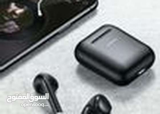 Bluetooth In-Ear Earbuds With Charging Case Black/White Model Number : JR-T03S