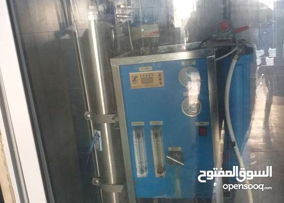 محطة مياه للبيع لعدم التفرغ في اربد شارع عبد الحميد شرف