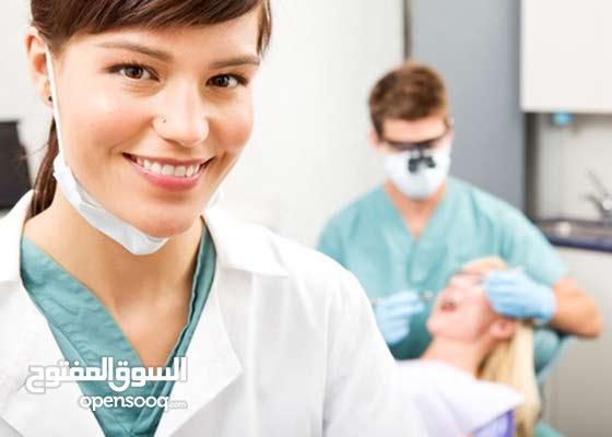 مطلوب طبيبة اسنان