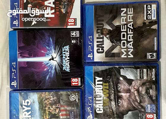 5 PlayStation 4 games new