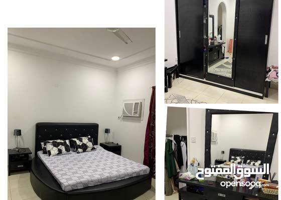 غرفة نوم مستعمله خشب بحريني