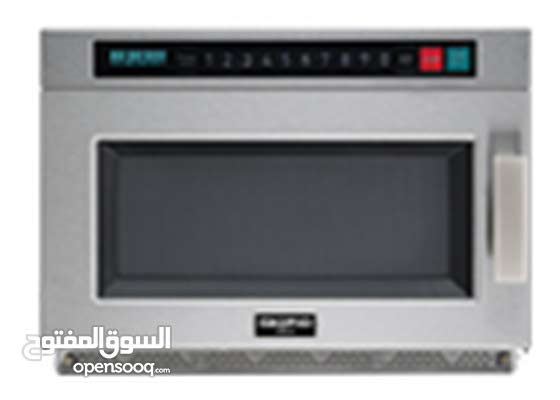 STAINLESS STEEL HEAVY DUTY MICROWAVE OVEN