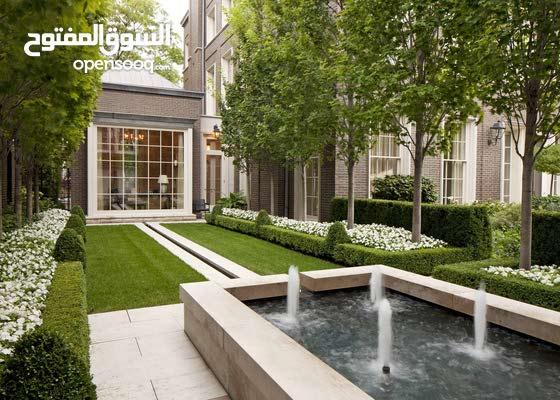 تنسيق حدائق بأرقى التصاميم