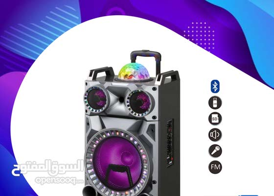 Bluetooth Speaker + Mic + Trolley (Free Delivery)