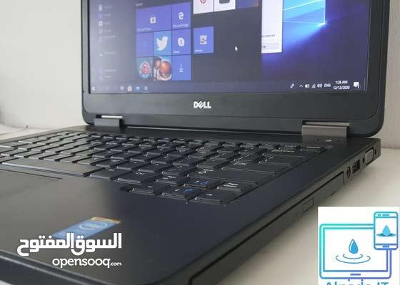 Laptop DELL5440 4th Generation 4GB RAM 500GB windows 10 pro جيل حديث مع ضمان شهر