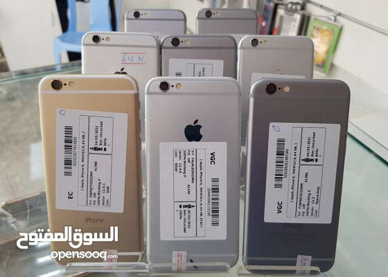 ايفون 6  ذاكره 64 جيبي الاصلي 100%
