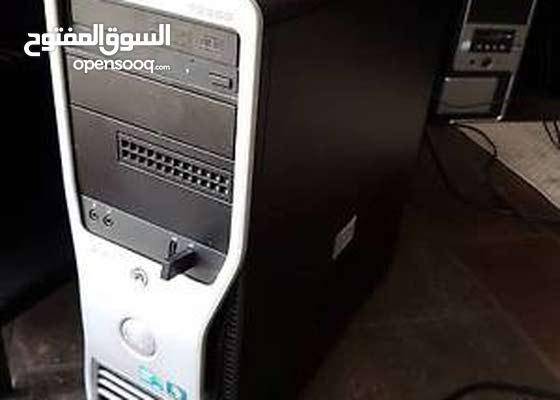 Dell Precision T3500 XEON w3520 رمات : 8 جيجا DDR3 هارد : 250 جيجا ساتا