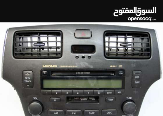 2002-2005 Lexus ES300 Factory 6 Disc Tape CD Player Radio