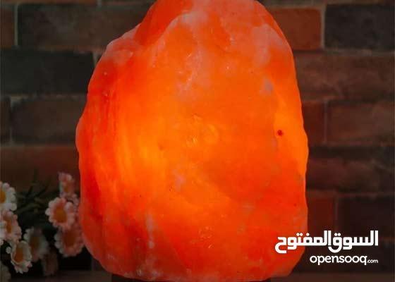 مصباح ملح الهملايا الصخري
