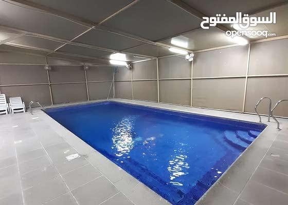 للايجار فيلا راقية في مدينة حمد شبه مفروشة مساحتها 1054 متر تتكون من :- 3غرف نوم