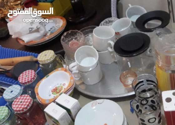 للبيع للسفر  أدوات مطبخ تبدا من ريالين .