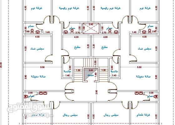 جدة - حي الريان - خلف المطار - شقق تحت الإنشاء