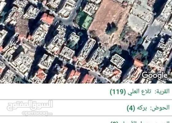 ارض للبيع في الاردن (عمان الغربيه الجاردنز)