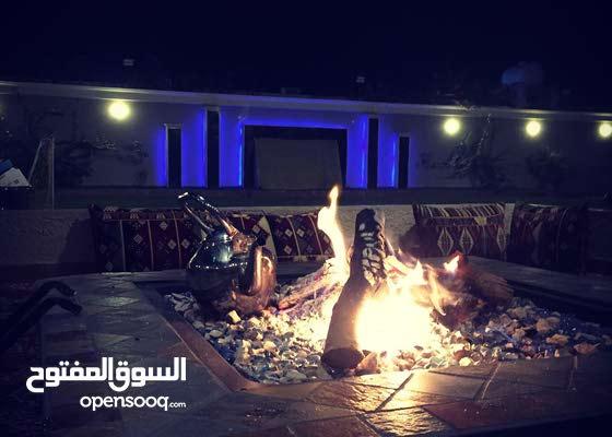استراحة ابيات قسمين بتصميم عصري جديدة ديراب- الرياض