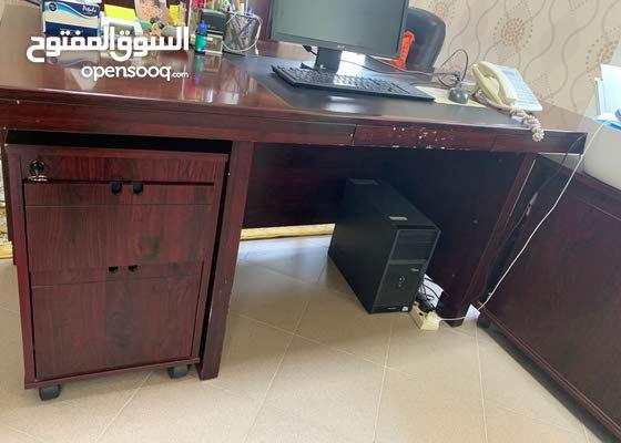 طقم مكتب كامل للبيع