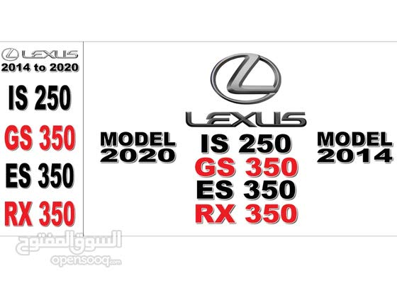 LEXUS GS ES IS RX used body parts available