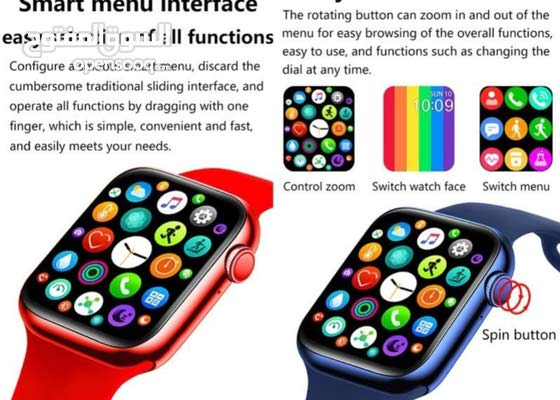 T55+ smart watch series 6 with spin button