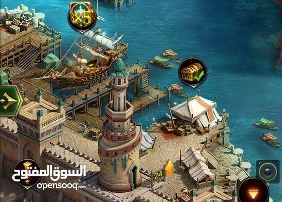 بيع قلعة في لعبة انتقام السلاطين تحتوي 607000 قطعة ذهب