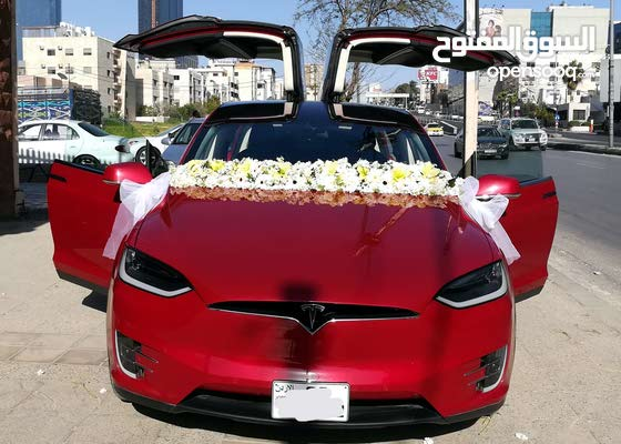 تيسلا x جيب كهربا 2018 بسعر مغري  خليك مميز بعرسك وجميع السيارات
