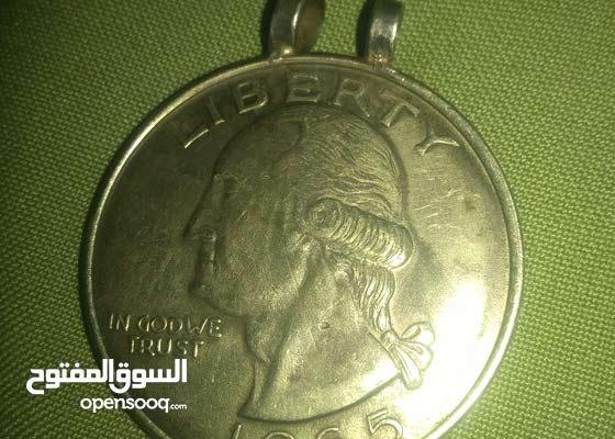 one dollar Liberty 1865