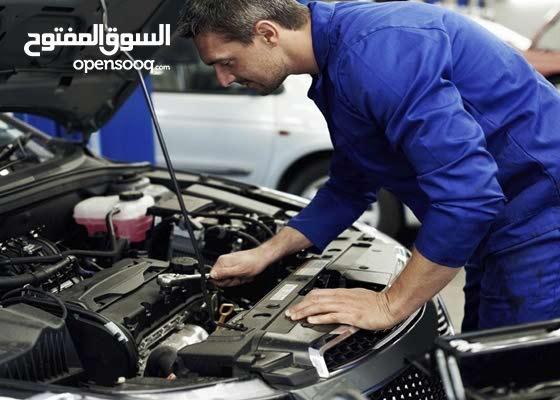 مطلوب ميكانيكي وكهربائي سيارات العمل فالورشه جنزور