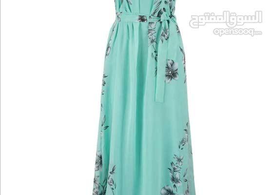 women's Aline dress .plus size,floral pattern,sleevless,maxi dress