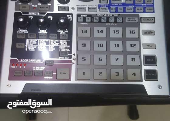 رولاند سامبلر  roland sampler sp-555 like new
