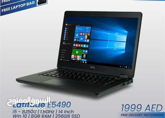Dell Latitude E5490 – Core i5 – 8th Gen  – [FIXED PRICE]