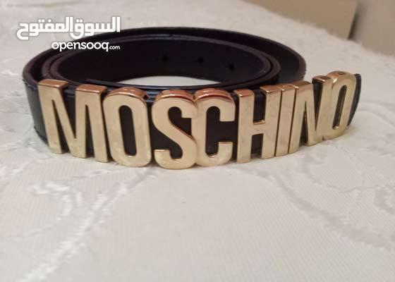 حزام نساءي ماركه مسكينو كواليتي درجه أولي ملبوس مرتين فقط