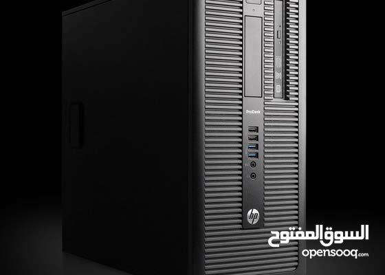 HP ELITEDESK 600 G1 TOWER CORE I5 جيل رابع هارد : 500 جيجا ساتا استيراااد