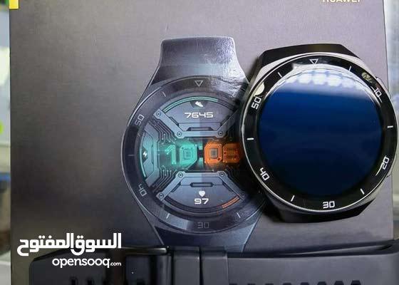 مطلوب ساعة هواوي gt2e بس كون نظيفة وكامل ملحقاتها