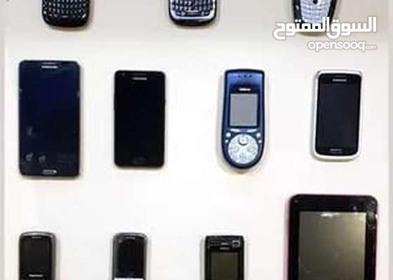 تلفونات متنوعه شغاله وبعضها محتاج لها بطارية