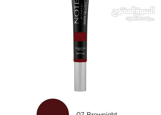 NOTE MINERAL LIP CREAM - Brownight 07