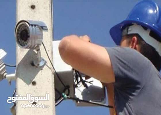 تركيب وصيانة انظمة الحماية والشبكات