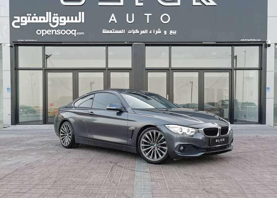 للبيع : BMW 428I موديل 2014 بحالة ممتازة
