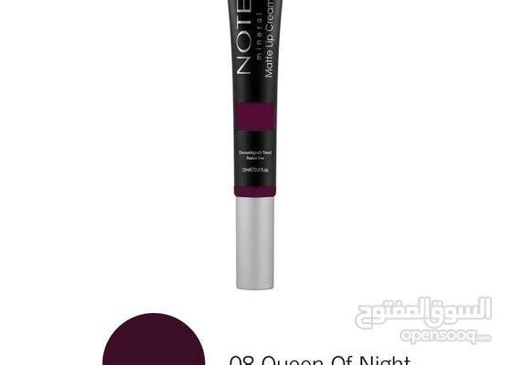 NOTE MINERAL LIP CREAM - Queen of Night 08