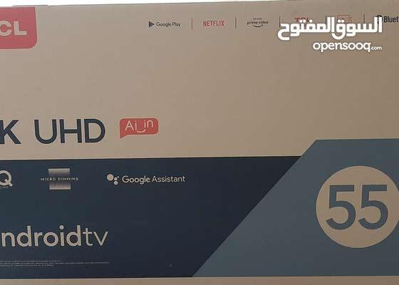 شاشه تي سي ال جديده55 بوصه