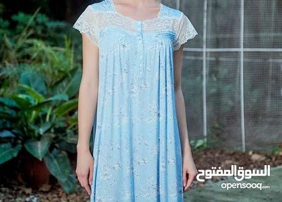 ميس ليندا تصميمات أنيقة للملابس الحميمة ، قمصان نوم قطنية مريحة وهادئة وخفيفة ال
